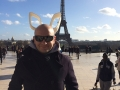 Jakub Papaj - in front of the Eiffel tower in Paris - France - stone 3522 & 4690